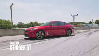 homepage tile video photo for Kia Stinger GT at Lightning Lap 2018