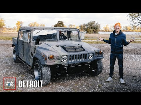 These Guys Built An 800hp Hummer TRACK CAR!