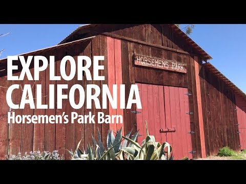 California Treasures, Horsemen's Park In Bakersfield, Ca.