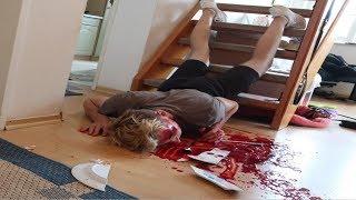 Blut  PRANK von BRUDER (geht SCHIEF)! 😱😱
