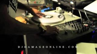 DJ DAMAGE VLOG#2 PRODUCER SPOT LIGHT EP.1  THE DAMAGE REPORT