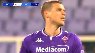 Дебют Кокорина за Фиорентину Вот что он показал в матче против Интера Фиорентина Интер 0 2