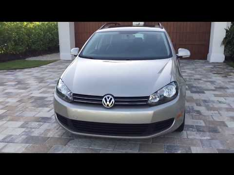 2013 Volkswagen Jetta Sportwagen TDI Review and Test Drive by Bill Auto Europa Naples