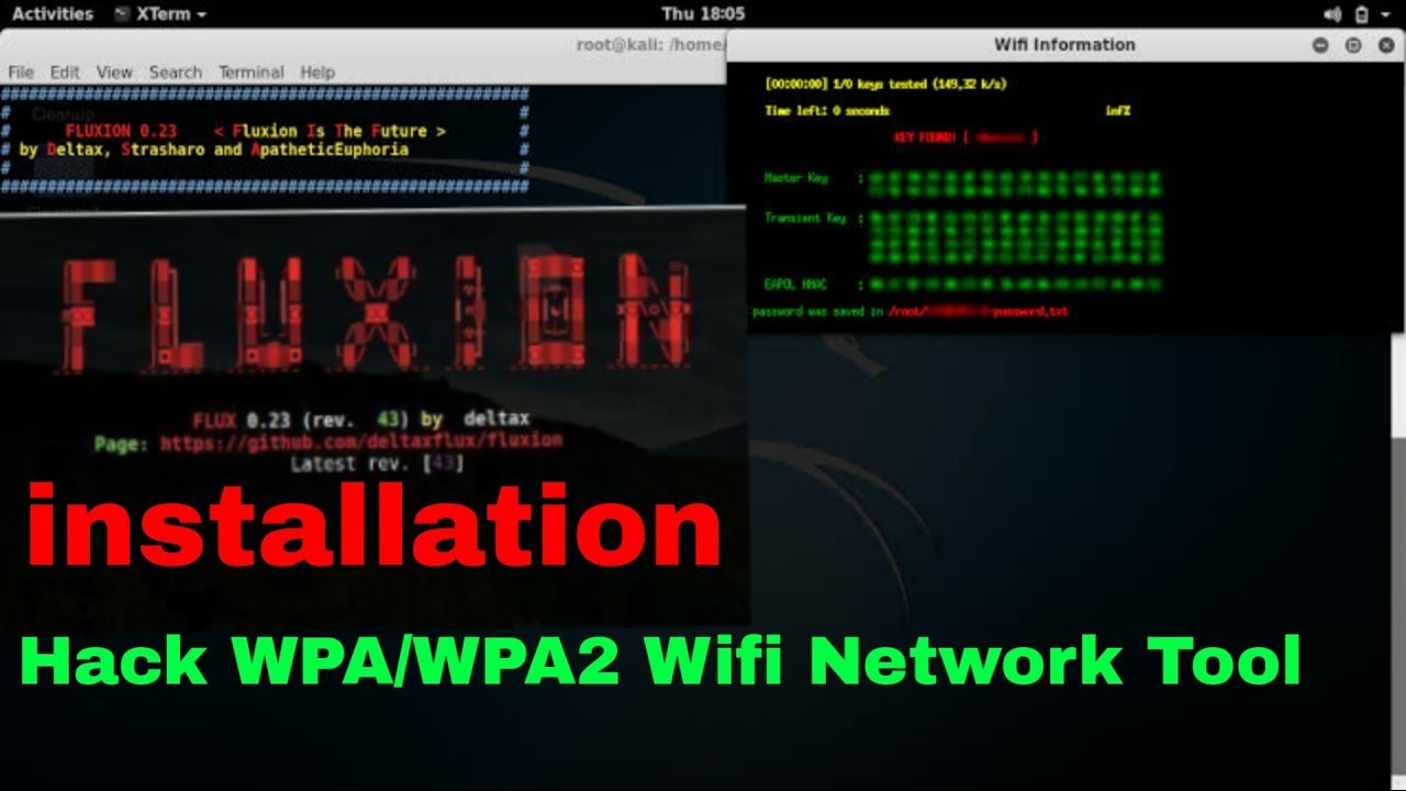 How To Install Fluxion In Kali Linux || Fluxion Install Successfully ||  Fluxion Error Fix