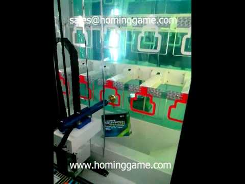 Key master game machine how to win the prize 1(sales@hominggame.com)