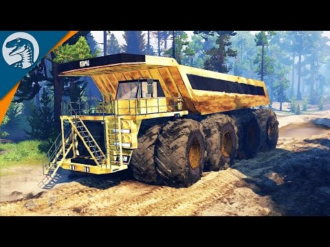 BIGGEST VEHICLES ON EARTH   Spin Tires   Multiplayer Gameplay