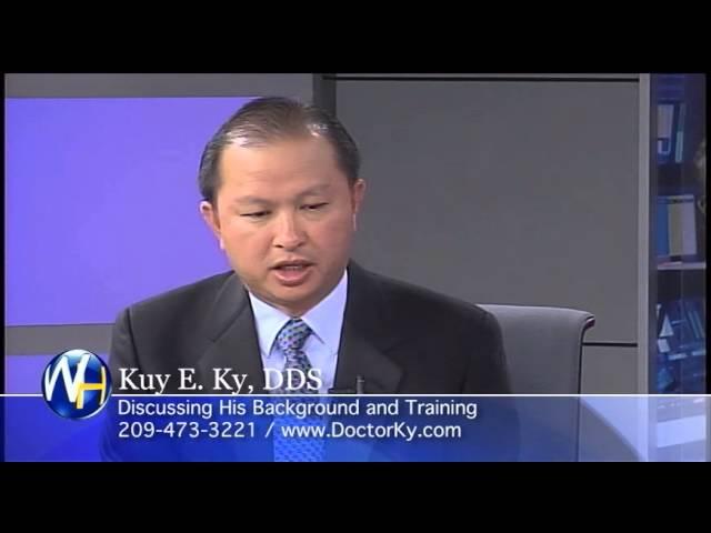 Background and Training, Stockton, CA Dentist, Kuy E. Ky