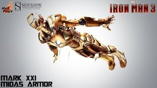 "Video Review of the Hot Toys: Iron Man Mark XXI ""Midas Armor"""
