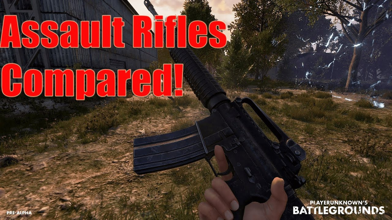 Playerunknown S Battlegrounds Weapons Guide Full List Of Pubg