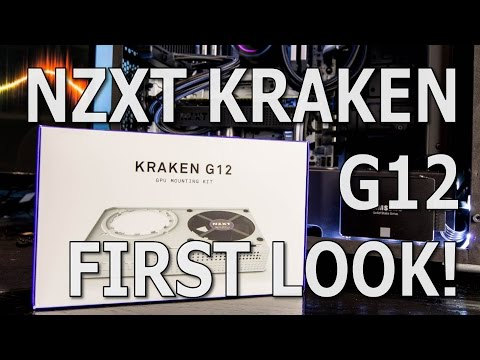 NZXT Kraken G12 - Unboxing, Install, And First Look