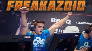CS GO Freakazoid Stream Highlights ACE Zeus 3 knife kills & more