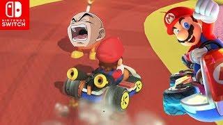 UN KRILIN TRAICIONERO 💣!!! Torneo con Subs 200cc   Mario Kart 8 Deluxe SWITCH - ZetaSSJ