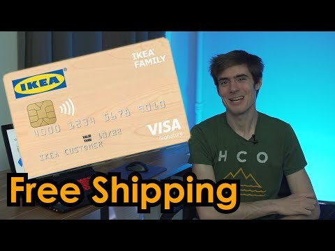 IKEA VISA Card is Offering FREE SHIPPING This Summer
