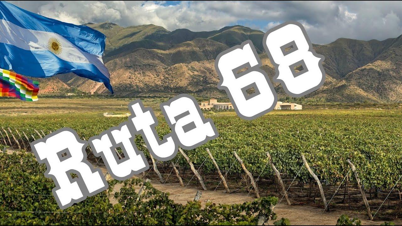 Viajando en Moto por la Ruta 68 en Salta
