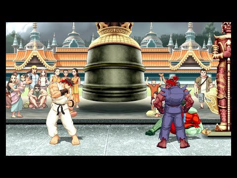 Ultra Street Fighter II: Unlocking Shin Akuma
