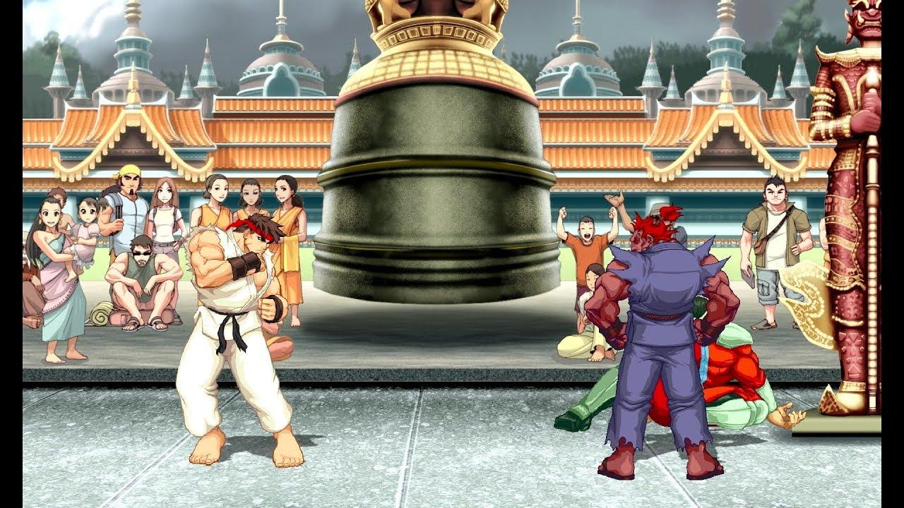 Ultra Street Fighter II: Unlocking Shin Akuma