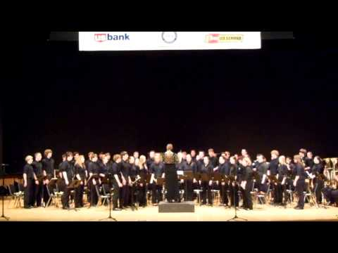 North Bend High School Band State Championship 2014