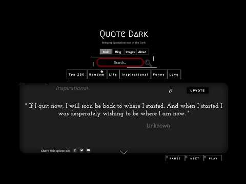 Welcome to QuoteDark com - Best source of Inspirational Quotes