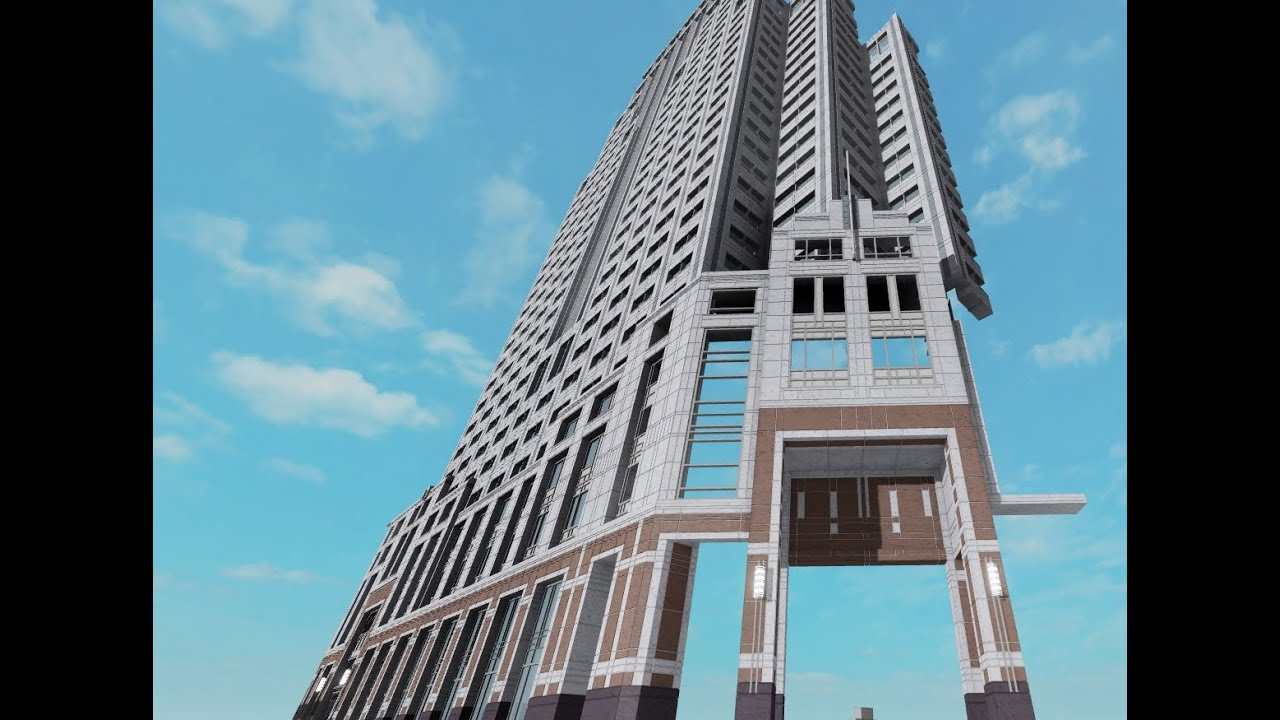 Building the State Street Financial Center in Roblox (Part 6)
