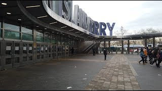 Walking NYC  ⁴ᴷ⁶⁰ : South Ferry & Battery Park New York