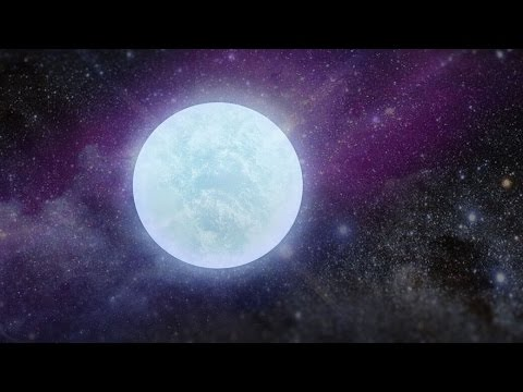 Pure Oxygen White Dwarf Star Discovered