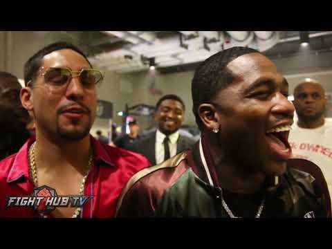 Adrien Broner & Danny Garcia React to Mayweather Stopping McGregor