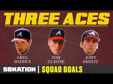 Atlanta's Big Three Dominated Baseball For A Decade