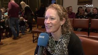 Erepenning van Zwolle voor wielrenster Kirsten Wild na drie wereldtitels
