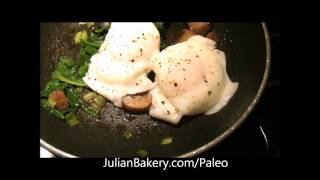 Poached Eggs On Paleo Bread Recipe