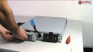 apc rbc43 battery installation installation tutorial video for apc rbc27 rbc32 rbc43 rbc105 replacement batteries