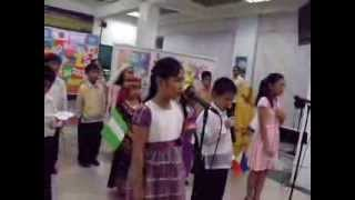 "U.N. Presentation 2013 - ""I Am Just A Small Voice"" by LA from Grade III and IV"