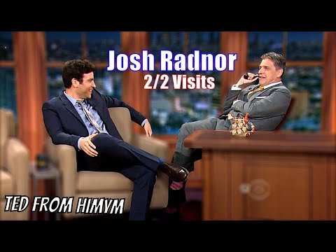 Josh Radnor  How Josh Radnor Met Ferguson  22 Visits In Chronological Order