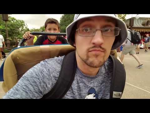 Shawn's First Trip to DISNEY WORLD #1!  (FUNnel Vision Vlog)