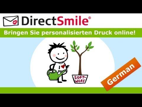 directsmile:-bringen-sie-personalisierten-druck-online!
