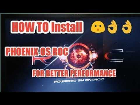 PUBG Lag Fix||How to Install Phoenix OS ROC{MOD}||Dual Boot with  Windows||Link in Description