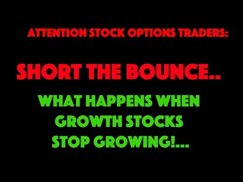 SHORT THE BOUNCE! WHAT HAPPENS WHEN GROWTH STOCKS STOP GROWING?! AMZN EARNINGS GOOGL EARNINGS TRADIN