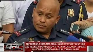 Dela Rosa: Madali nang matutukoy kung sino ang mga nasa likod ng pagpatay na may kinalaman sa droga