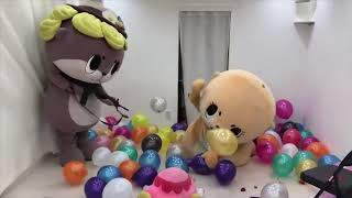 JAPANESE MASCOT FAILS, FLIGHTS AND FUNNY MOMENTS VIDEO