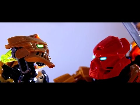 The Toa Melee: Bionicle Stop-Motion