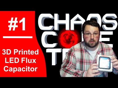 3D Printed Flux Capacitor - Part 1 - Design, Printing, and Painting