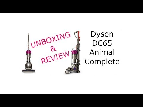Unboxing Dyson DC65 Animal Complete and Walkthrough