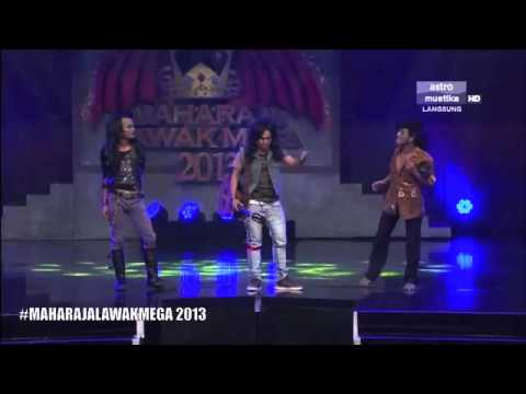 Maharaja Lawak Mega 2013 - Minggu 4 - Persembahan Zero
