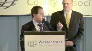 'Limousines & Pickup Trucks:' Tom Abinanti addresses Westchester County Association Breakfast