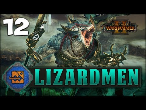 ELVES AT THE GATES! Total War: Warhammer 2 - Lizardmen Campaign - Kroq-Gar #12