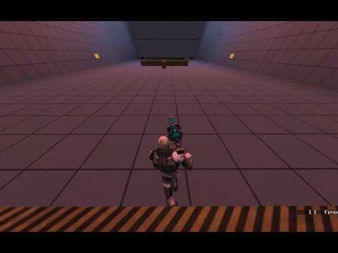 Player model - Nexus: Animation Test 3