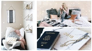 COLLEGE DORM ROOM TOUR + before & after // University of Dayton