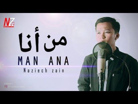 VIRAL!! MAN ANA (Siapa Diriku) - Versi Akustik Guitar By Naziech Zain