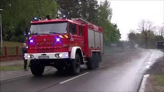 [POŻAR LASU] Alarmowo 10 zastępów Straży Pożarnej powiatu Pilskiego i Złotowskiego