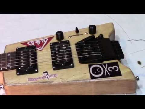 BUILDING AND UPGRADING A SOLO HEADLESS GUITAR KIT-VERY CHALLENGING