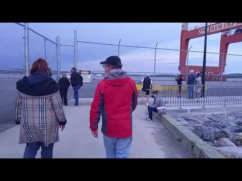 Bonus Video: Worlds 2nd Largest Container ship - Halifax Port
